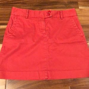 J Crew chino skirt